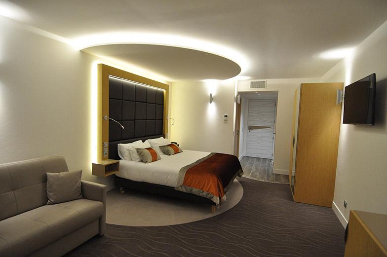 Création chambres d'hôtel