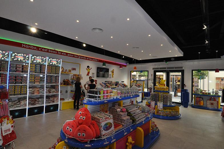 Création magasin