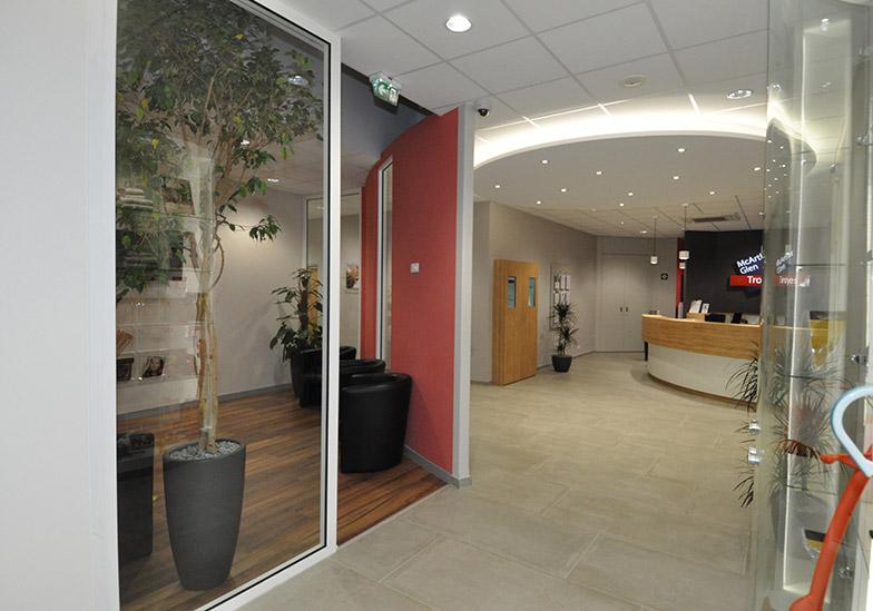 Rénovation accueil centre